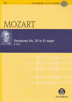 Mozart W.a. - Symphonie N°39 En Mib Majeur - Conducteur Poche + Cd