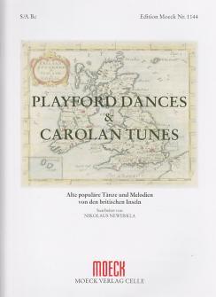 Newerkla N. (ed.) - Playford Dances & Carolan Tunes - Flb Et Clavecin