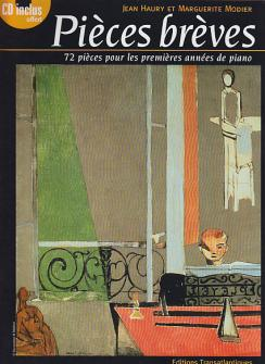 Haury J./modier M. - 72 Pieces Breves - Piano