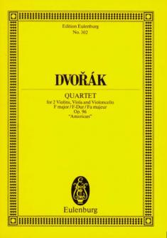 Dvorak Antonin - String Quartet F Major Op. 96 B 179 - String Quartet