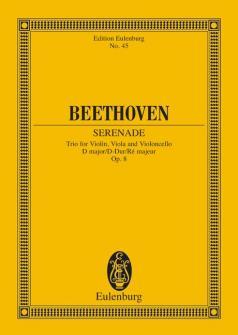 Beethoven Ludwig Van - String Trio D Major Op 8 - String Trio
