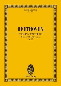 Beethoven Ludwig Van - Concerto D Major Op. 61 - Violin And Orchestra
