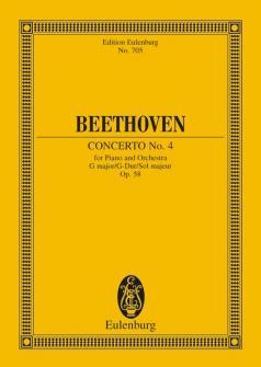 Beethoven Ludwig Van - Concerto No 4 G Major Op 58 - Piano And Orchestra