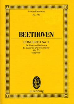 Beethoven L.v. - Concerto N°5 In Eb Major - Piano And Orchestra