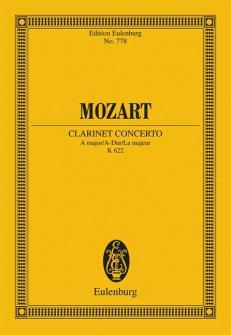 Mozart W.a. - Concerto A Major  Kv 622 - Clarinet And Orchestra