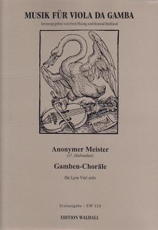Anonymer Meister (paris, 17th Century): Gamba-chorals