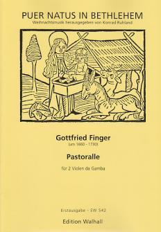 Finger G. - Pastoralle - 2 Violes De Gambe Et Bc