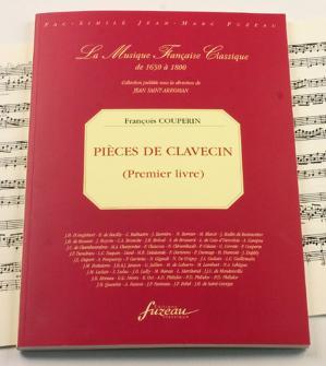 Couperin F. - Pieces De Clavecin, Premier  Fac-simile Fuzeau