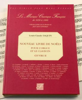 Daquin L.c. - Nouveau Livre De Noels, Oeuvre Ii - Orgue, Clavecin - Fac-simile Fuzeau