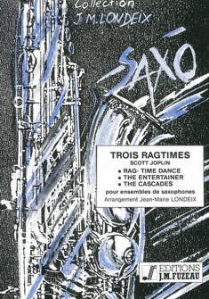 Joplin Scott - Trois Ragtimes - Saxophones