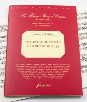 Couperin F. - Parnasse Ou Apotheose De Corelli - Fac-simile Fuzeau