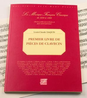Daquin L.c. - Ier Livre De Pieces De Clavecin - Fac-simile Fuzeau
