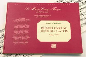 Clerambault N. - Ier Livre De Pieces De Clavecin - Fac-simile Fuzeau