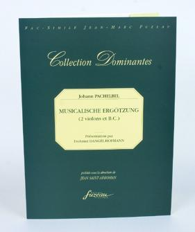 Pachelbel J. - Musicalische Ergotzung - Nurnberg, S.d. = 1695 - 2 Violons, Basse Continue