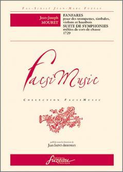 Mouret J.j. - Fanfares Et Suite De Symphonies - Livre Second, 1729 - Fac-simile Fuzeau