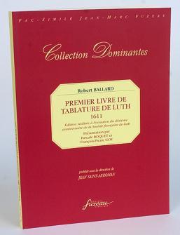 LUTH, THEORBE Classique : Livres de partitions de musique