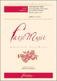VIOLON 2 Violons et Basse continue : Livres de partitions de musique