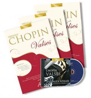 Chopin F. - Valses Recueil N°1, 2 Et 3 + Cd Audio - Piano - Fac-simile Fuzeau