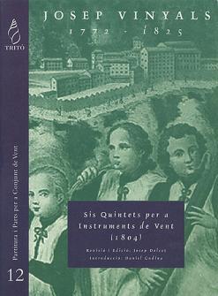 Vinyals J. - Six Quintettes Pour Instruments A Vent