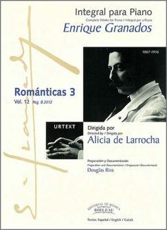 Granados E. - Integrale De L'oeuvre Pour Piano : Romanticas 3