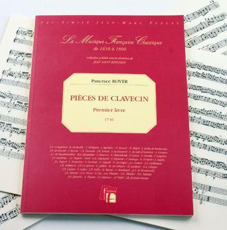 Royer Pancrace - Pieces De Clavecin. Premier  Fac-simile Fuzeau