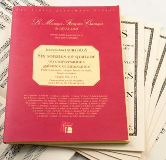 Guillemain L.g. - Six Sonates En Quatuor, 1743 - Flute, Violon, Viole De Gambe, Basse Continue