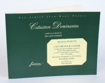 Pasquini B. - Oeuvre Pour Clavier, Deuxieme Partie - Fac-simile Fuzeau