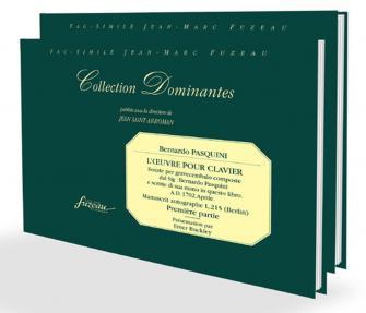 Pasquini B. - L'oeuvre Pour Clavier 1ere & 2eme Partie, Manuscrit Autographe 1702