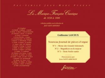 Lasceux Guillaume - Nouveau Journal De Pieces D'orgue N�1, 2 Et 3 - Fac-simile Fuzeau
