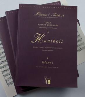 Giboureau M. - Methodes Et Traites Hautbois 3 Volumes, Serie Ii France 1800-1860 - Fac-simile Fuzeau