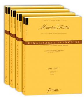 Trachier O. - Methodes Et Traites Renaissance 4 Volumes, Serie Ix Renaissance France - Fac-simile
