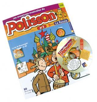 BENARD VINCENT - LES AVENTURES MUSICALES DE POLISSON N°1 : LA RUSSIE + CD