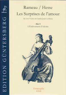 Rameau J. Ph./ Hesse L. Ch. - Les Surprises De L'amour - 2 Violes (et Clavecin)