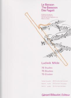 BASSON Etudes : Livres de partitions de musique
