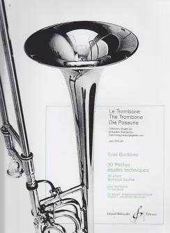 Borderes Y. - 30 Petites Etudes Techniques Vol. 2 - Trombone