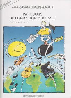Duplessis Annick - Parcours De Formation Musicale Vol.1 - Livre Du Professeur