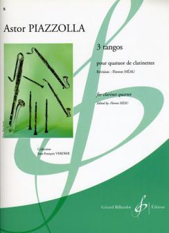 Piazzolla Astor - 3 Tangos - Quatuor Clarinettes