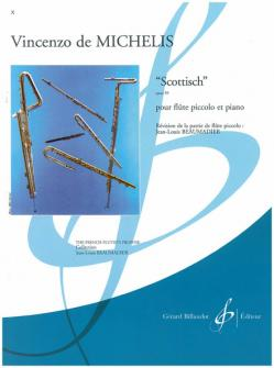 De Michelis Vicenzo - Scottisch Op.39 - Flute Piccolo