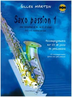 Martin Gilles - Saxo Passion Vol.1 +cd