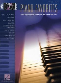Piano Duet Play Along Vol.1 - Favorites 9 Duets + Cd