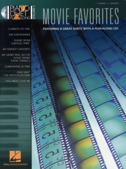 Piano Duet Play Along Vol.2 - Movie Favorites 8 Duets + Cd