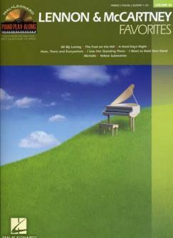 Piano Play Along Vol.68 Lennon & Mccartney Favorites + Cd