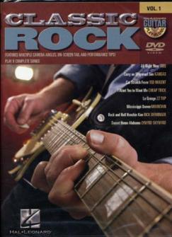 Guitar Play Along Vol.1 - Classic Rock