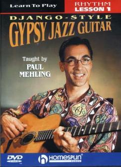 Meling Paul -  Gypsy Jazz Guitar - Django Style Lesson 1 : Rhythm - Guitare
