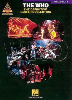 Who - Definitive Collection A-e - Guitar Tab