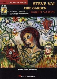 Vai Steve - Fire Garden Signature + Cd - Guitar Tab