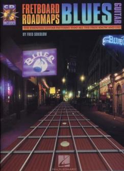 Sokolow Fred - Fretboard Roadmaps Blues Guitar + Cd - Guitar Tab