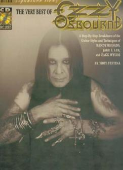 The Very Best Of Ozzy Osbourne - Signature Licks Tab + Cd