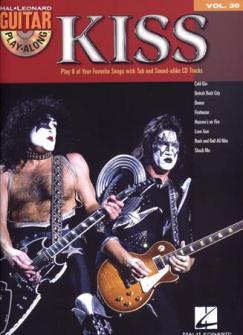 Kiss - Guitar Play Along Vol.30 + Cd - Guitar Tab