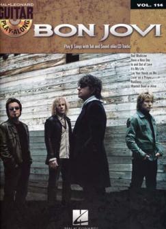 Bon Jovi - Guitar Play Along Vol.114 + Cd - Guitare Tab